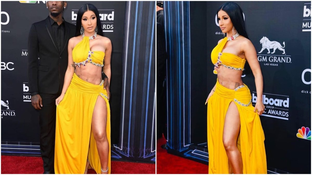 Cardi B goes nude For An Instagram Video During The 2019 Billboard Music Awards