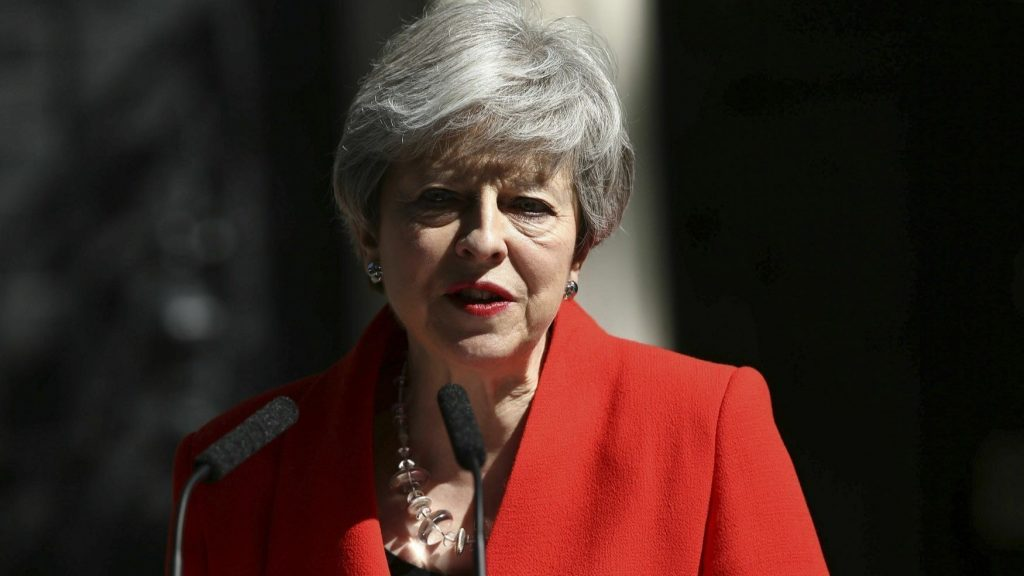 ct prime minister theresa may resigns 20190524