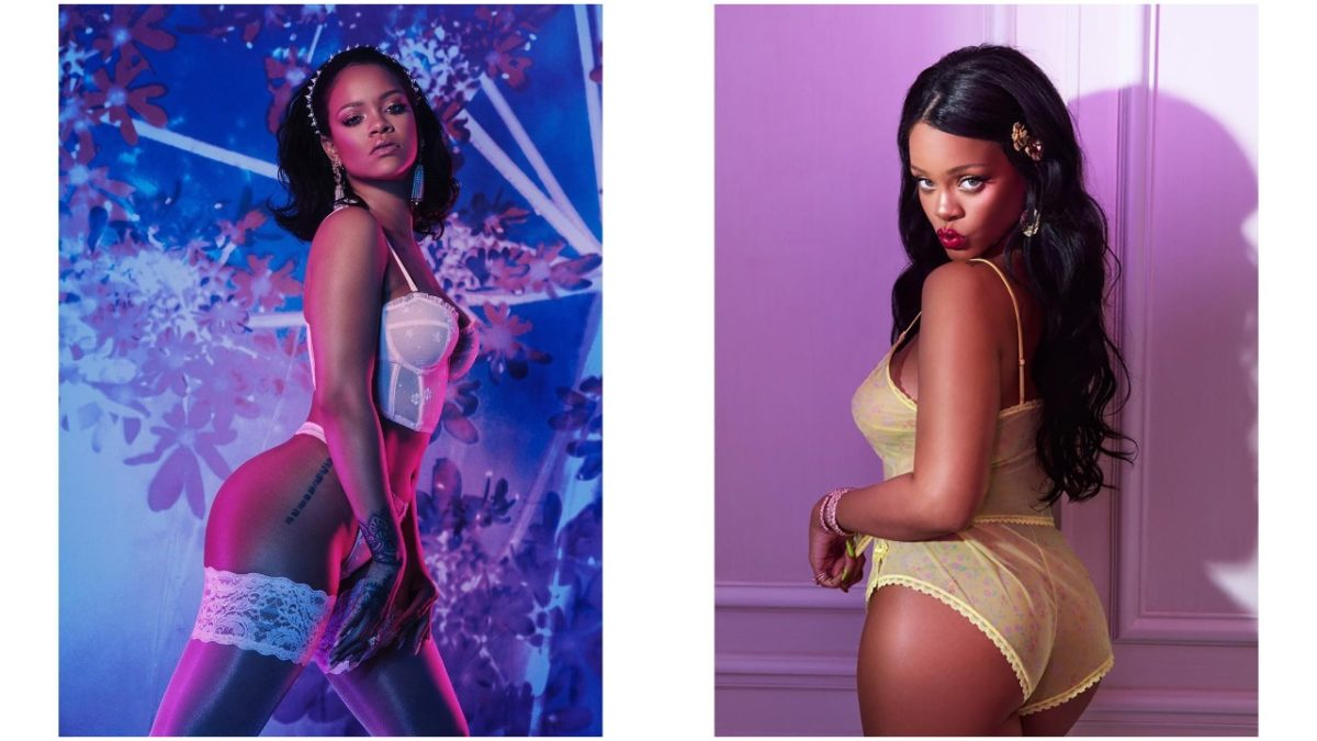 Badgal Riri on Fire! - Rihanna set hearts racing in new sultry lingerie picture