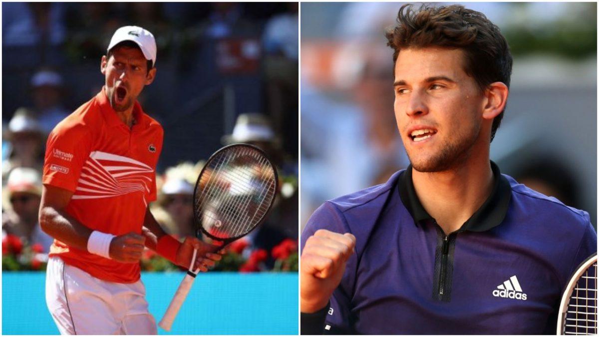 World No. 1 Djokovic Defeats Thiem to reach Madrid final