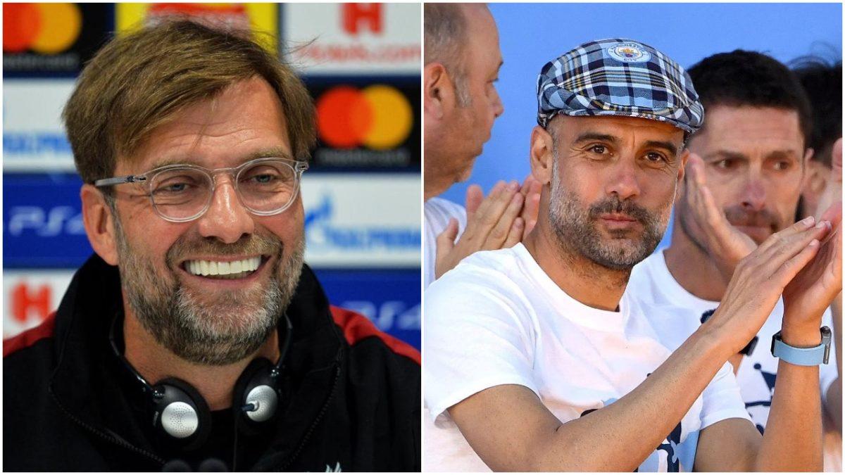 Liverpool Boss, Klopp mocks Guardiola ahead of Champions League final