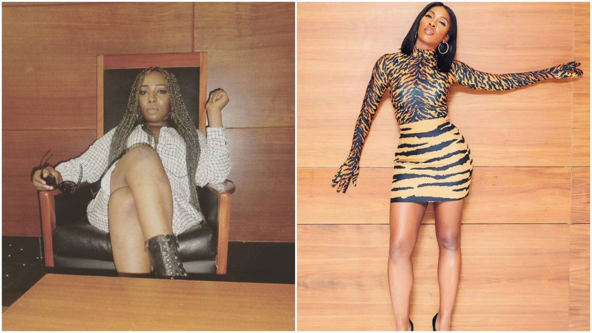 Nigerian Female Rapper, Pryse Apologizes To Tiwa Savage After Joining Victoria Kimani To Call Her Out