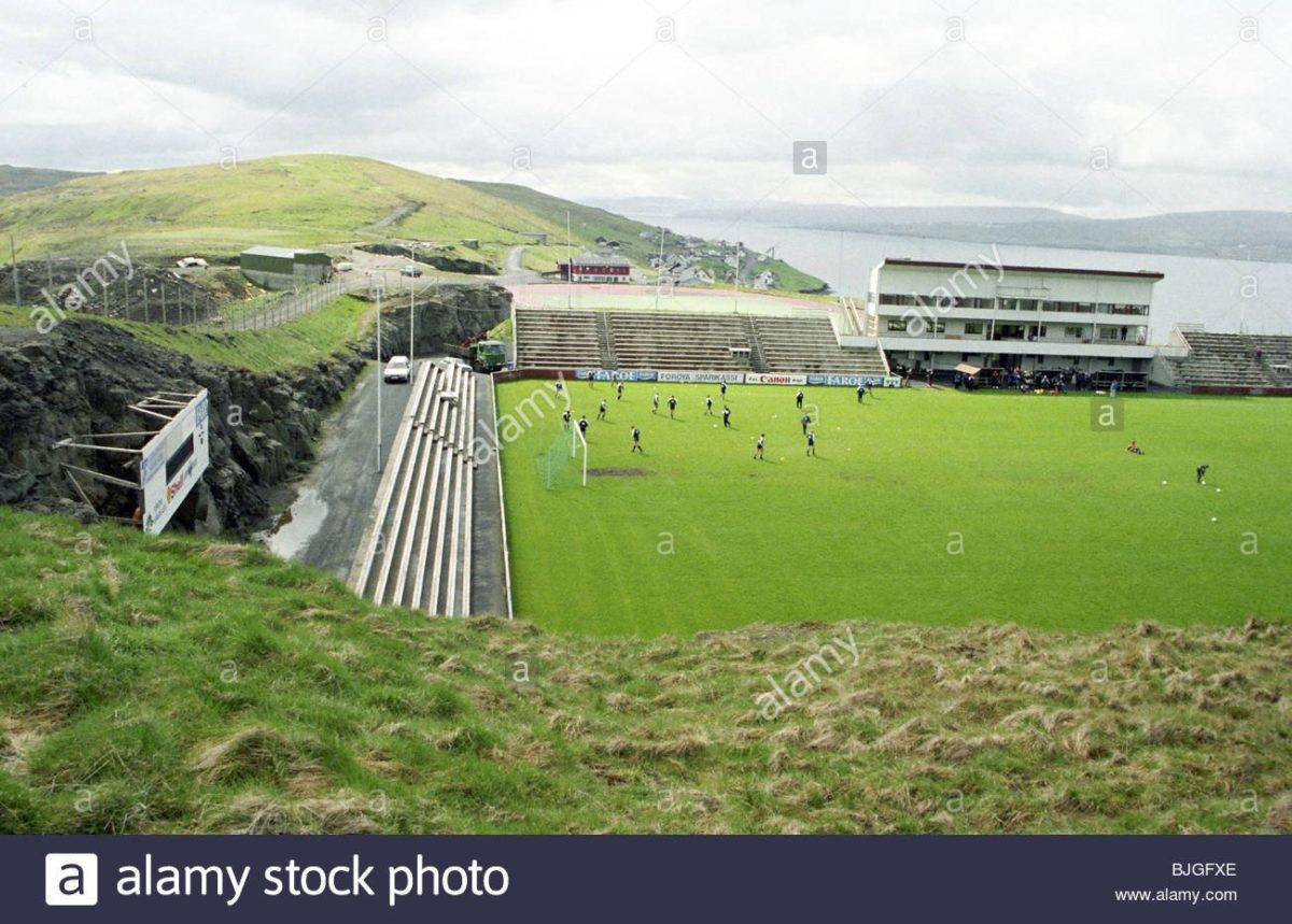 season 19951996 svangaskard stadium toftir the faroe islands national