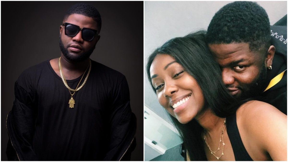 Skales And His Girlfriend Neza Celebrate One Year Anniversary of Dating , Mr Eazi Reacts