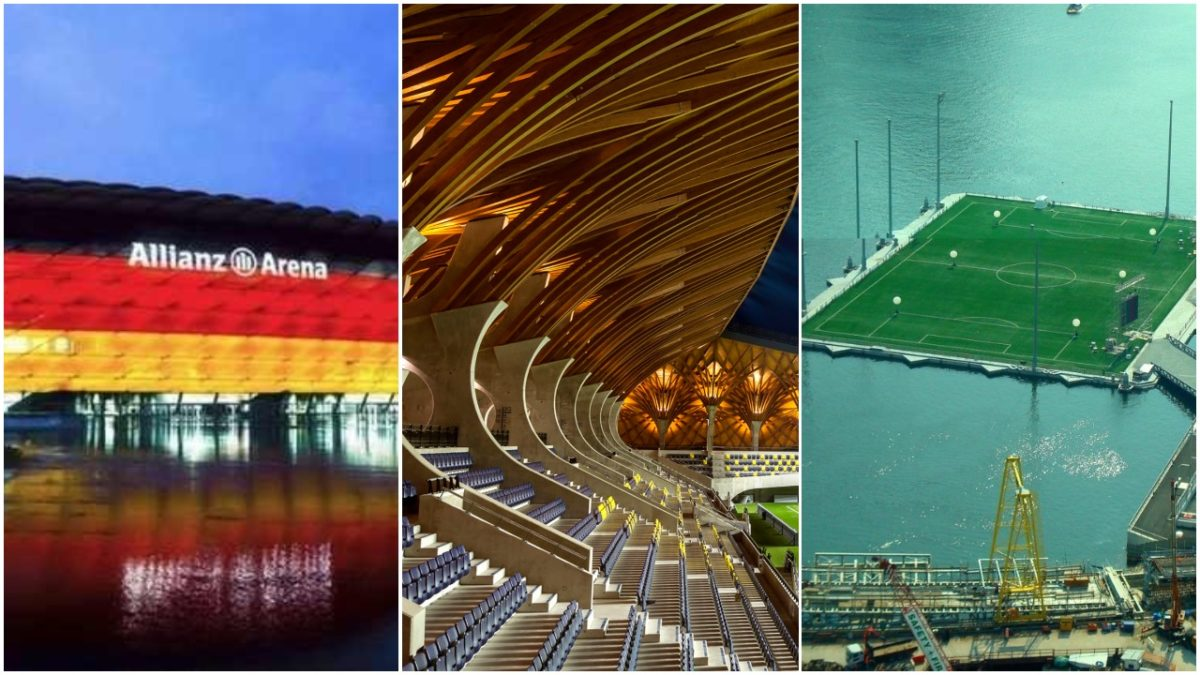 10 Most Beautiful Football Stadiums In The World