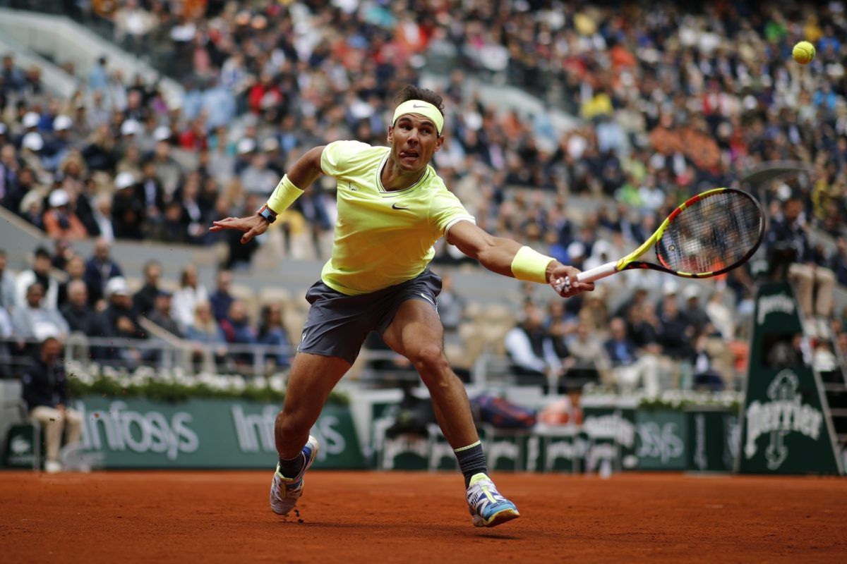 King of Clay , Rafael Nadal thrash Federer to reach French Open Final