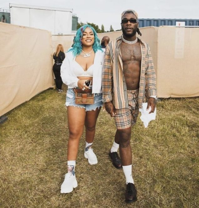 African giant Artiste, Burna Boy And Stefflon Don Step Out In Style
