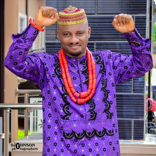 Pete Edochie's son Yul Edochie praises holy Mary that saved him from a Fatal Accident
