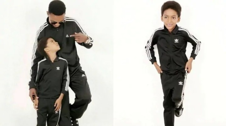 Veterancomedian, I go Dye gifts his son a house on his 9th birthday