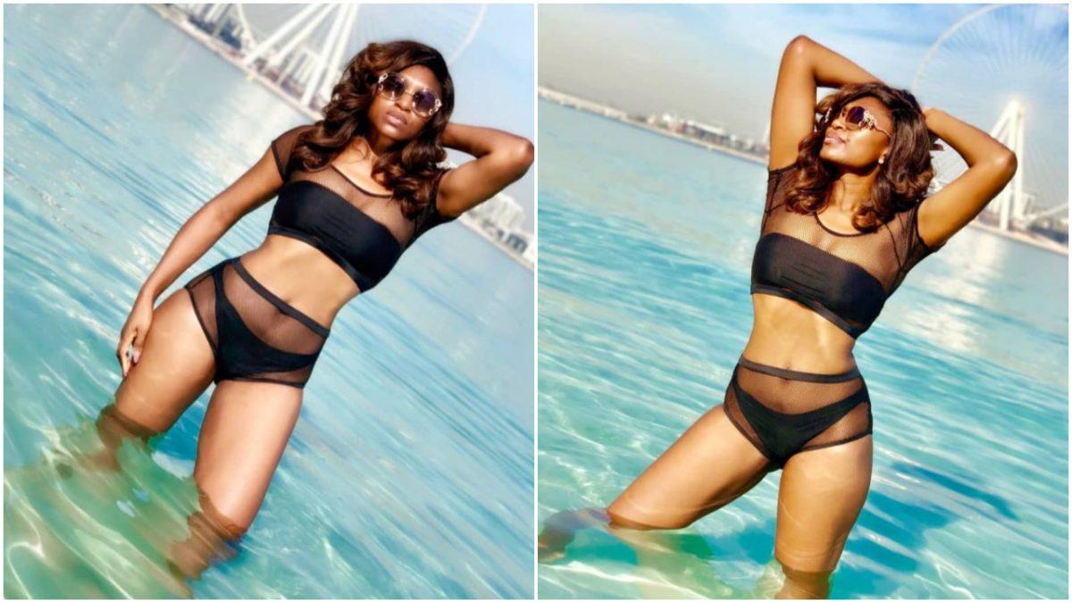 Actress and mum of two Ufuomma McDermott shares sexy bikini photos