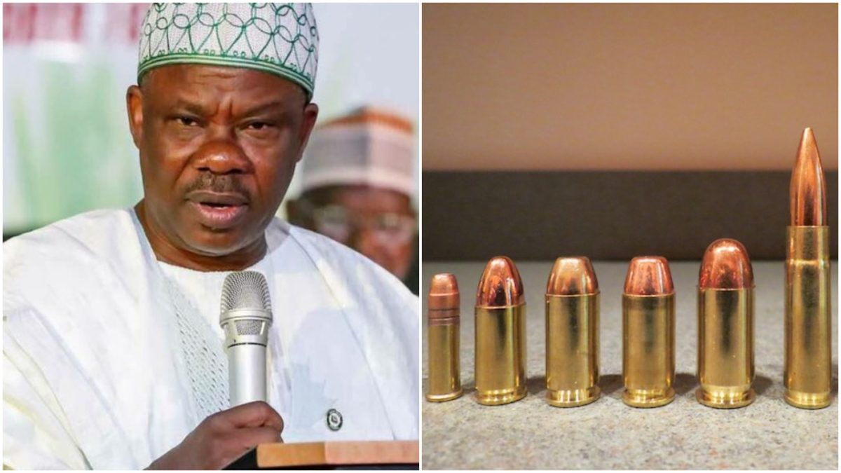 War Lord? - Amosun surrenders 1000 AK47 rifles, 4million bullets acquired before 2019 elections