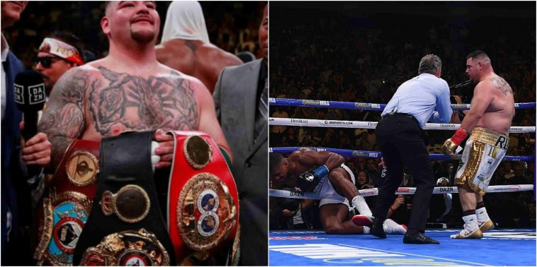 Nigerian celebrities Consoles Anthony Joshua over defeat to underdog Andy Ruiz