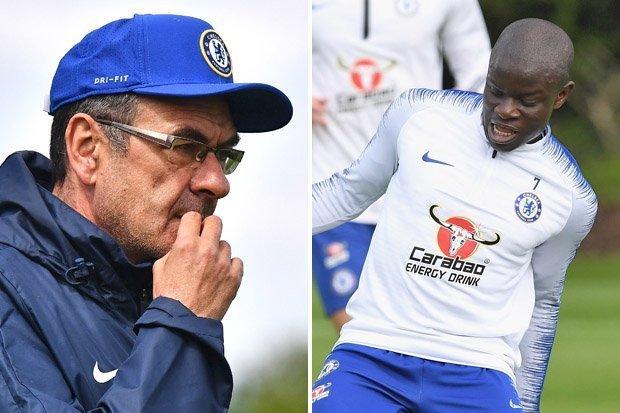Chelsea boss Maurizio Sarri N Golo 781715