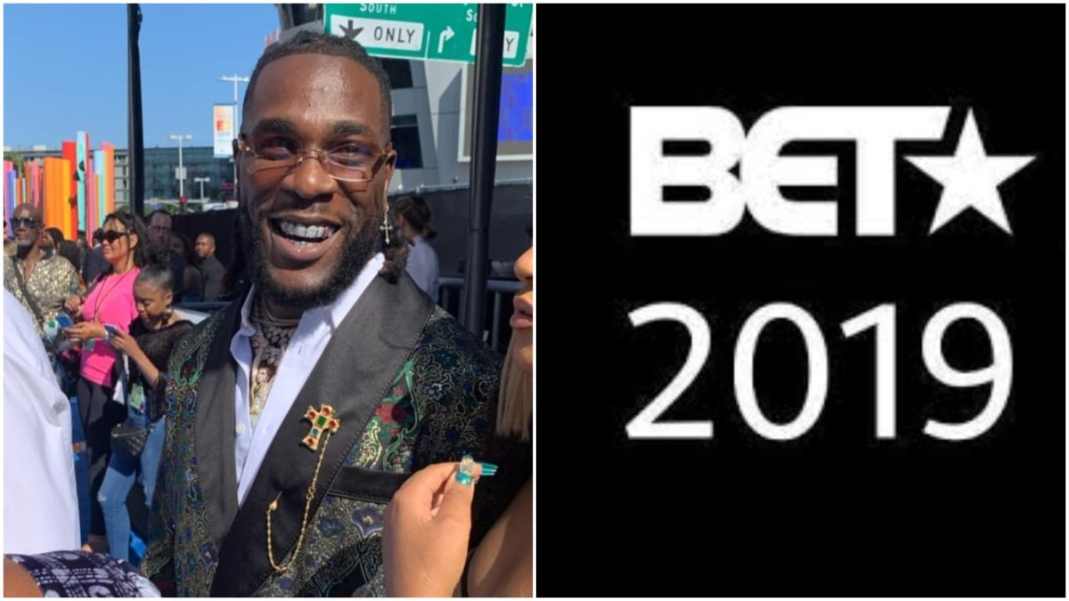 African Giant , Burna Boy wins Best International Act at BET Awards