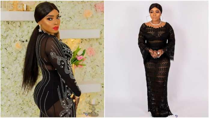 Halima Abubakar Celebrates Her 34th Birthday In See Through Black Dress