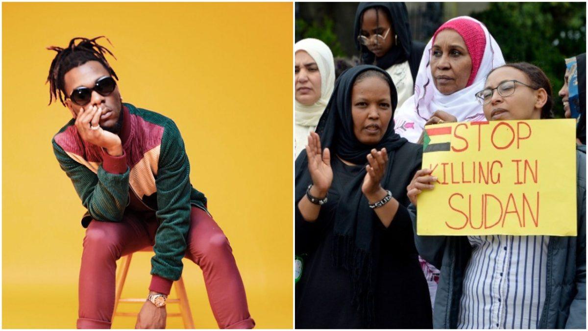 Nigerian Singer, Burna Boy pledges to help victims of Sudan massacre