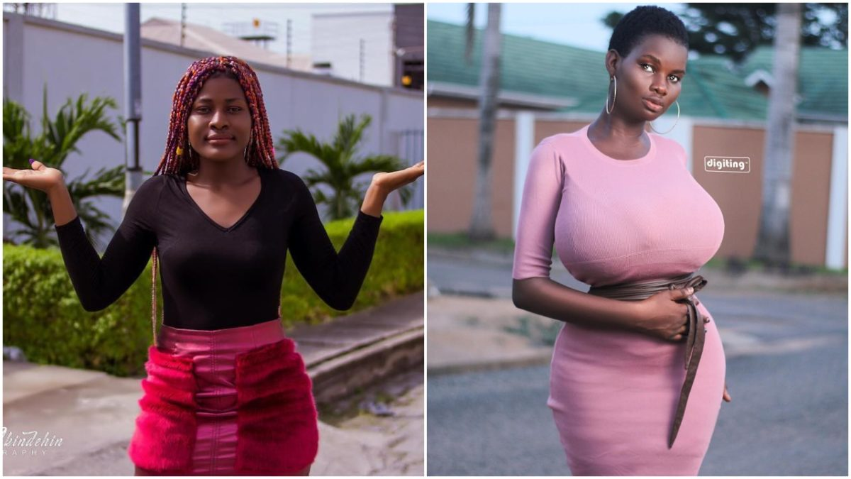 Our country's budget on one chest - Alex Unusual reacts to Pamela Odame dancing to Mavin's new Song