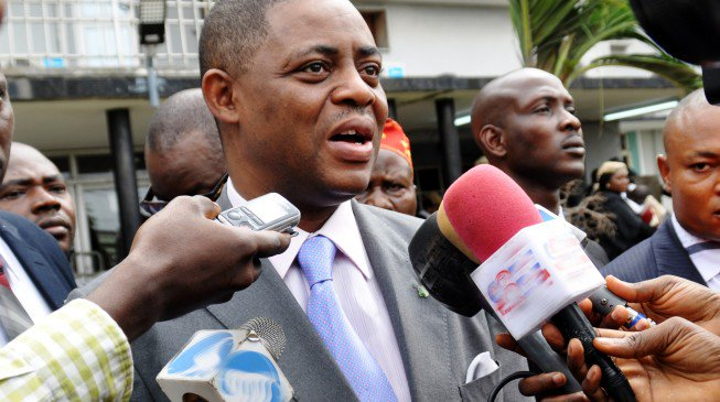 PIC.18.FEMI FANI KAYODE APPEARS IN COURT IN LAGOS