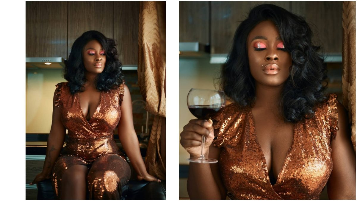 Ex BBNaija housemate,Uriel Oputa Flaunts Major Cleavages In New Photos