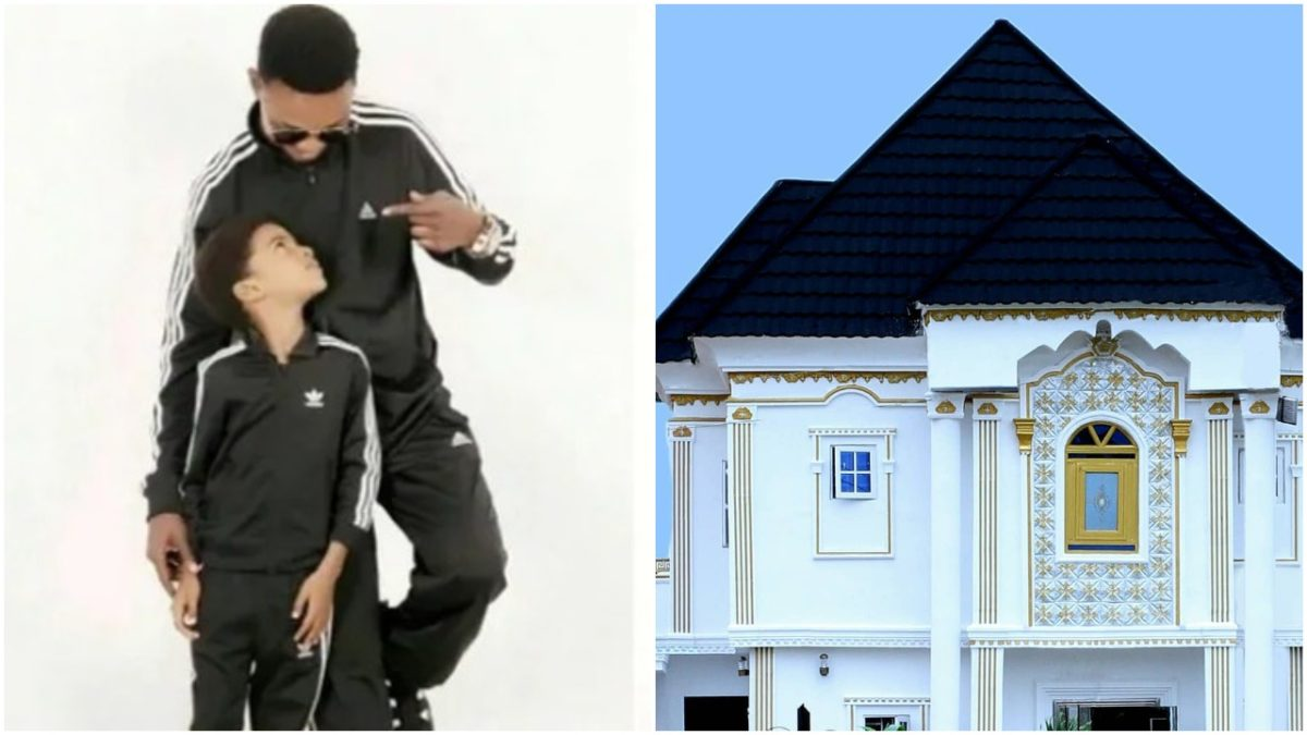 Veteran comedian, I go Dye gifts his son a house on his 9th birthday