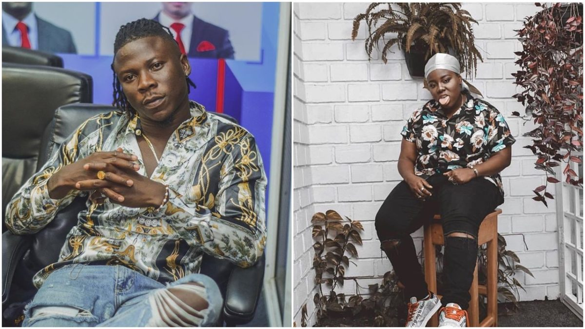 Video of Teni cracking up Ghana's VGMA Artiste of the year, Stonebwoy