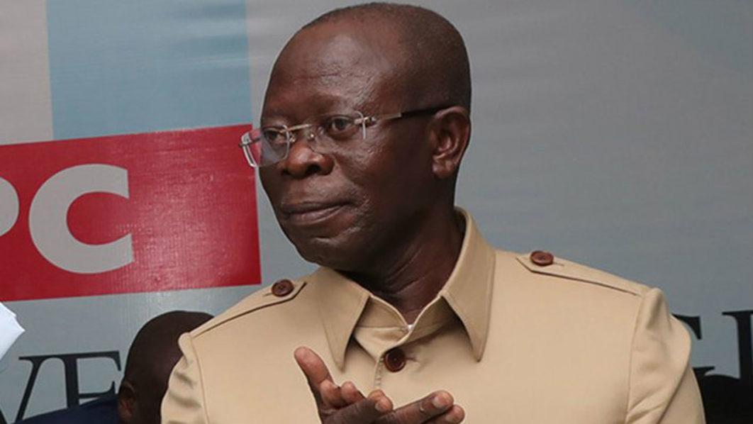 adams oshiomhole yekinni nabena igniting a civil war in apc saraki