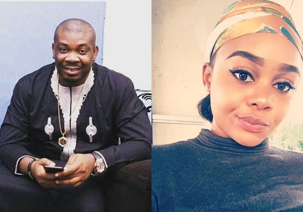 im pregnant for don jazzy – lady claims he reacts 4