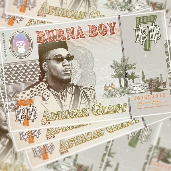 Burna Boy - African Giant ALBUM
