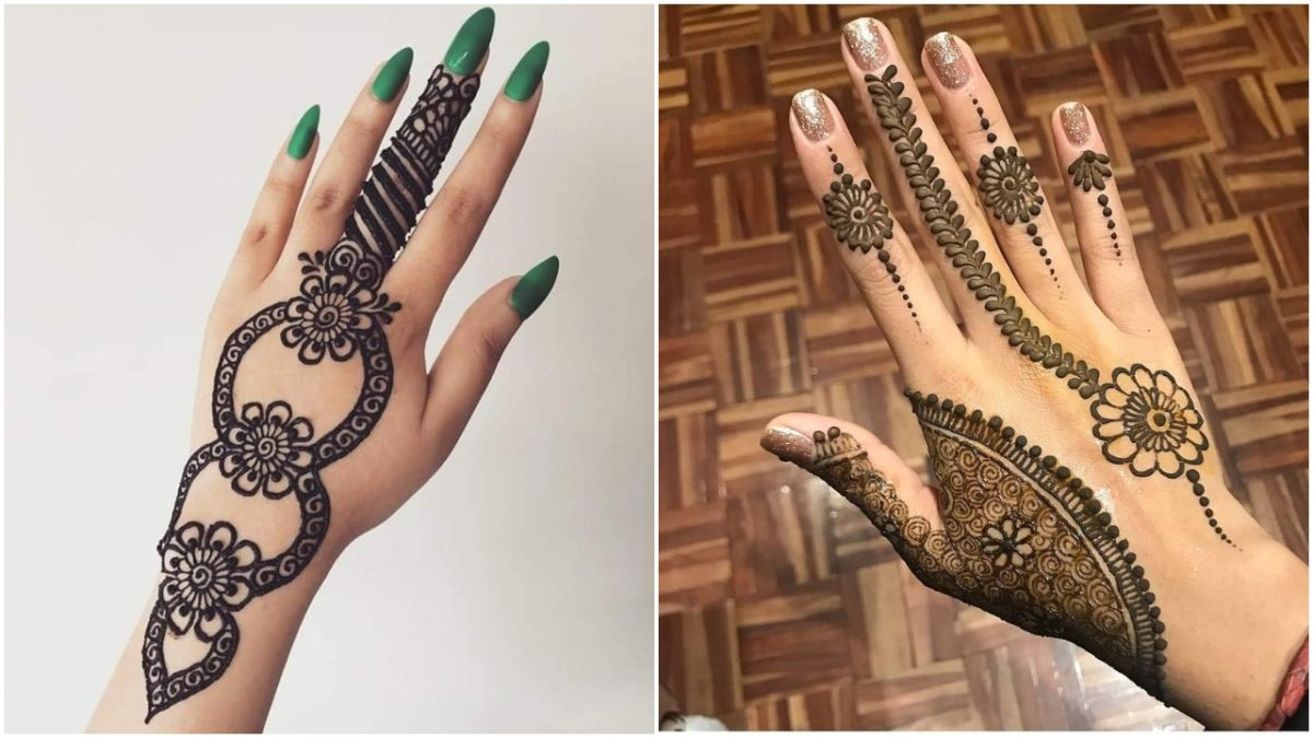 TRENDY FRIDAY!! Latest Simple Yet Classy Mehndi Designs