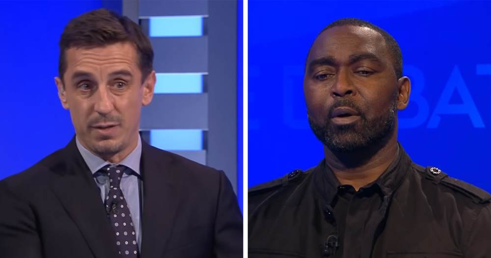 POGBA MISSED PENALTY: United Legend Andy Cole calls out Gary Neville after 'hateful' comment
