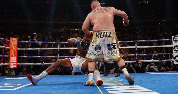 I want to finish Anthony Joshua's career- Ruiz Jr