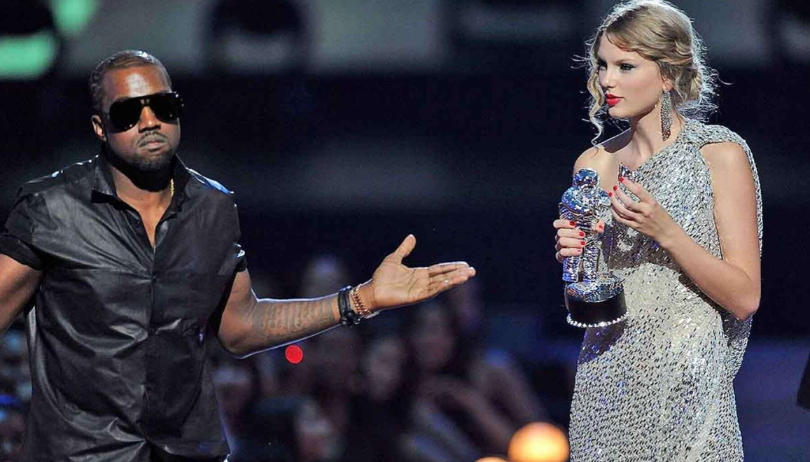 Kanye West shaded by Taylor Swift a Decade After Notorious Disturbance