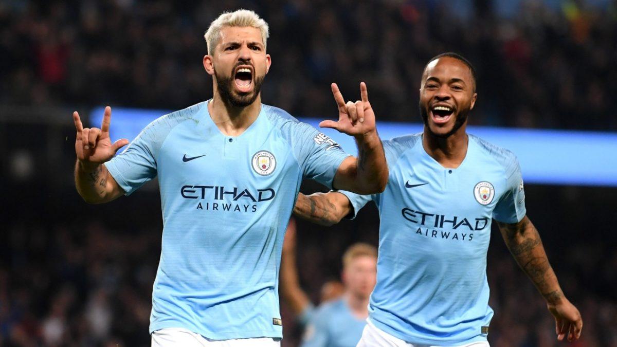 Aguero's double goals make Man City victorious