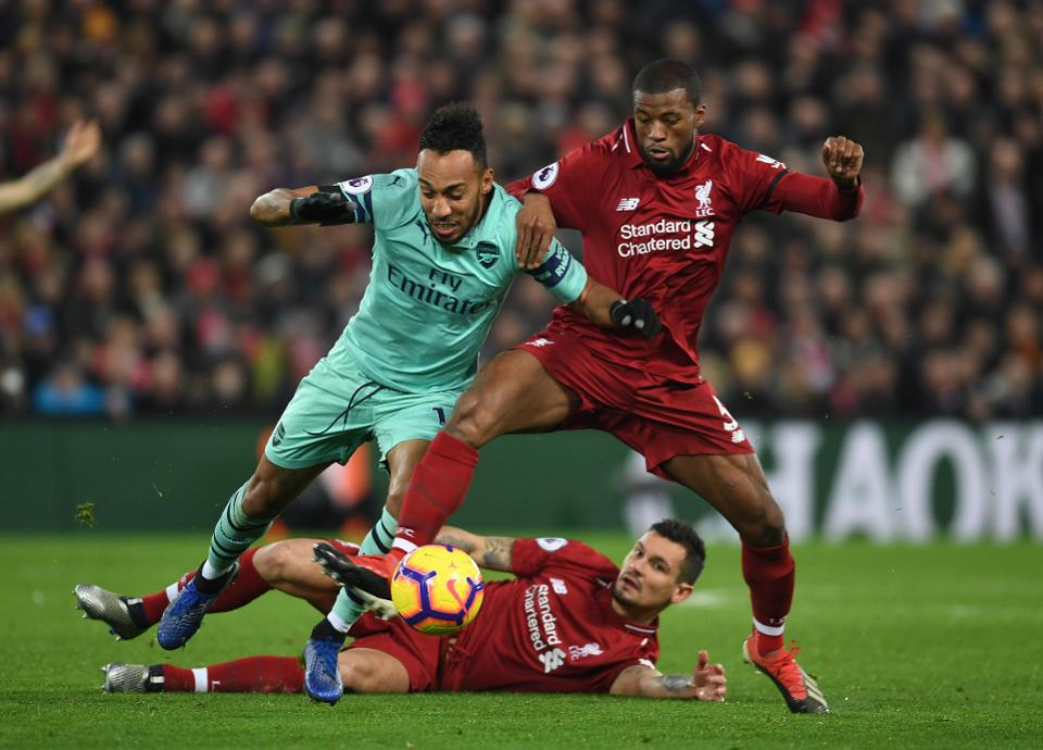 Mo Salah lead Liverpool to victory over The Gunners