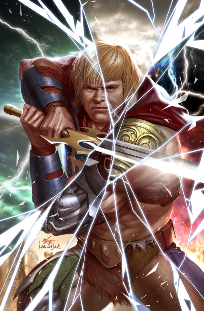 DC Comics alongside Mattel reveal the reboot of 'He-Man and The Master of the Multiverse'