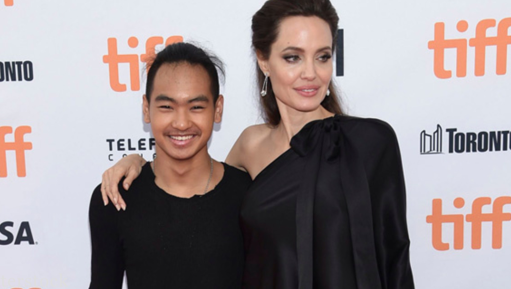 Angelina Jolie Hold Back Tears as She Drops off Son at South Korean College