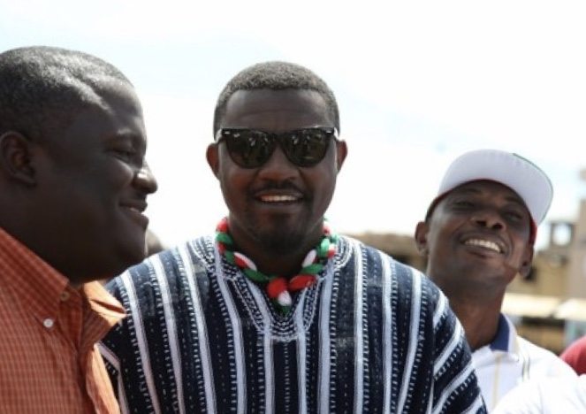 Actor John Dumelo positive about winning elections