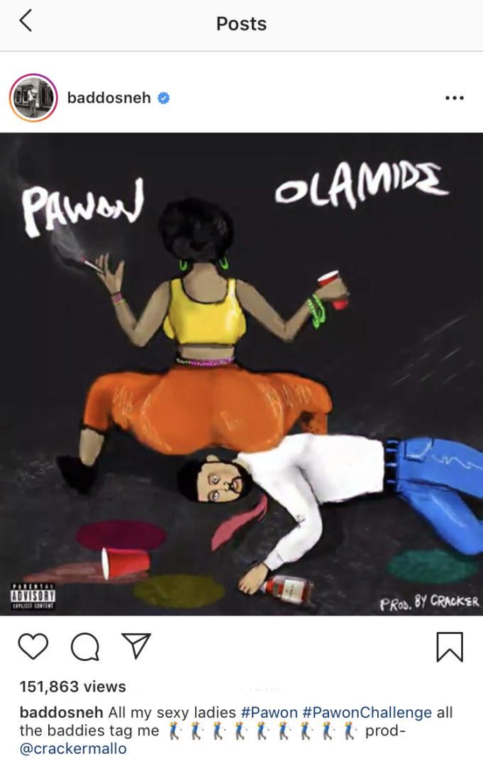 "Olamide launches Dance Challenge for fans, dubbed ""Pawon"""