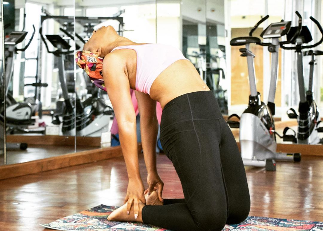 Nollywood Actress Dakore shades fat people, gives fitness tips