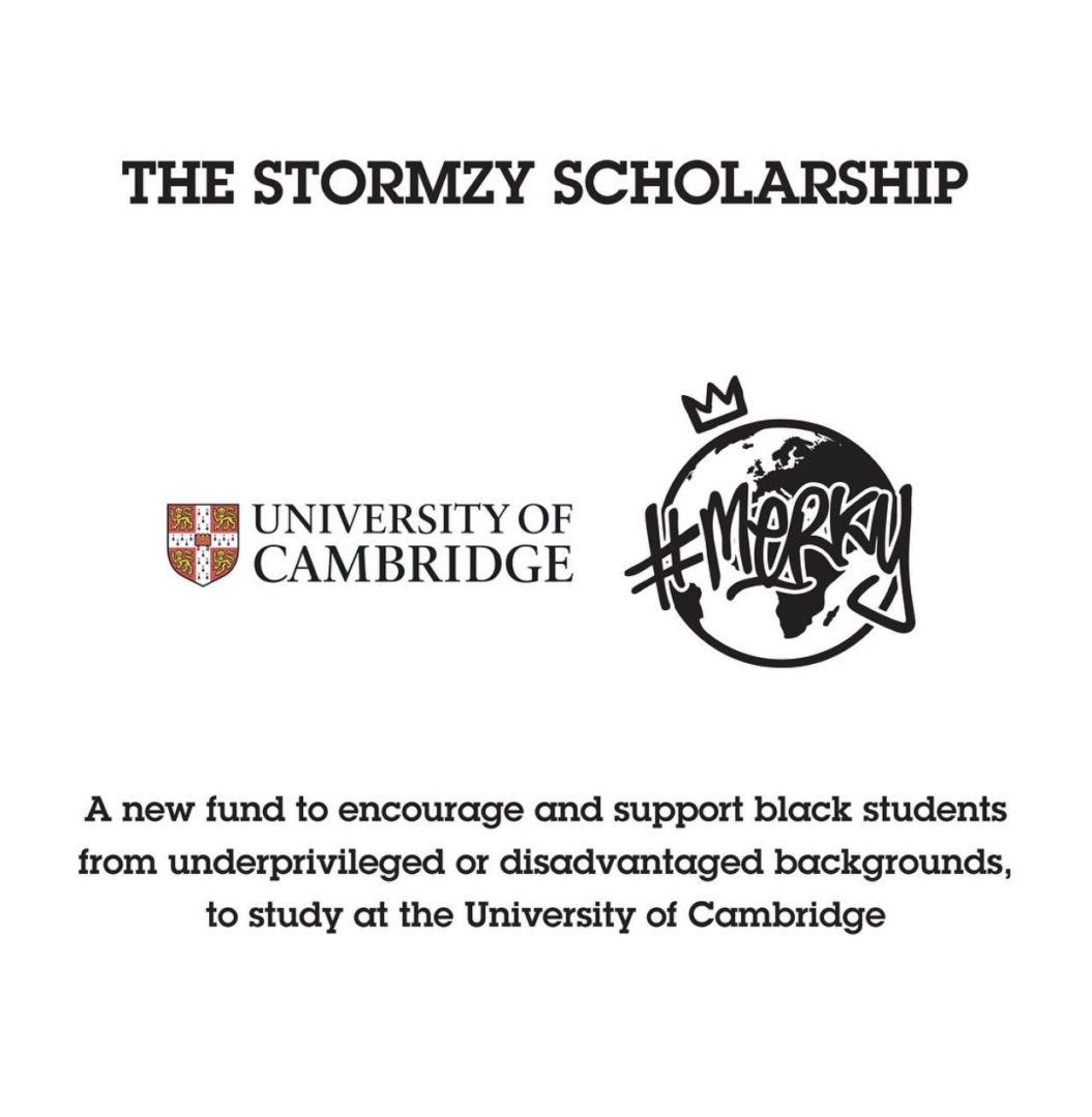 Stormzy launches second edition of fully funded University Scholarship for Black Students