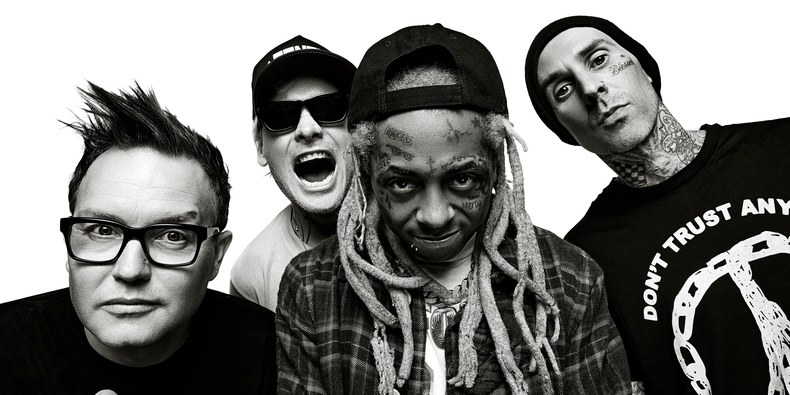 LEGENDARY: Lil Wayne and Blink 182 collaborate on 'A Milli' and 'What's my age again' mashup