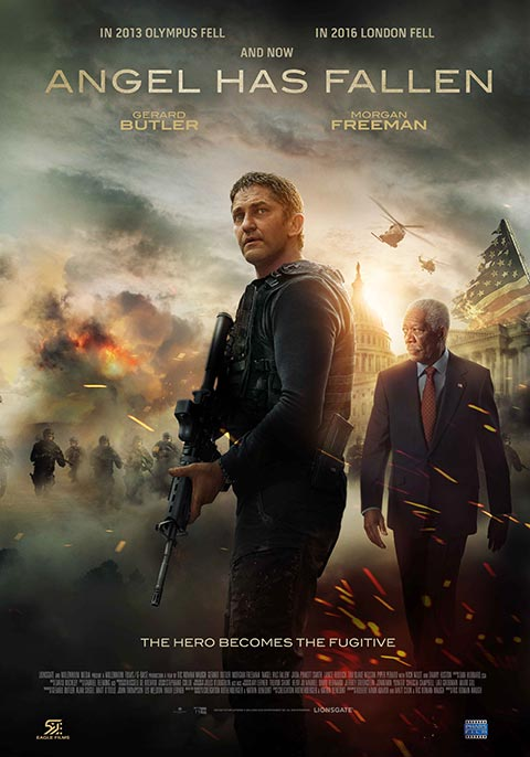 'Angel has fallen' debuts No. 1 Box Office with $21.3 million