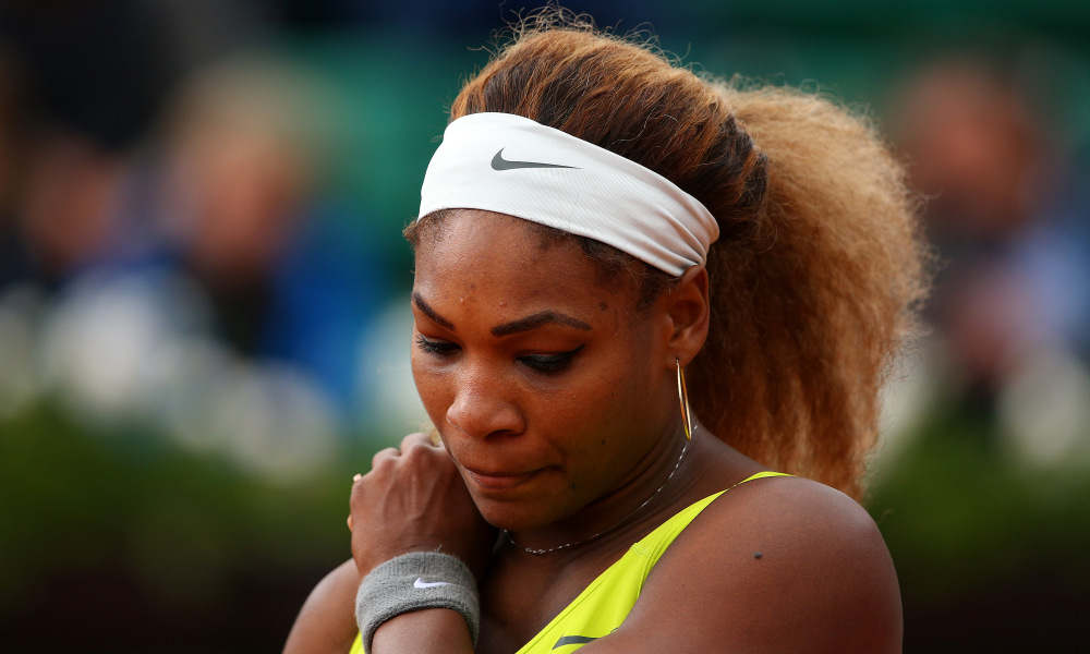 Serena Williams pulls out again in game