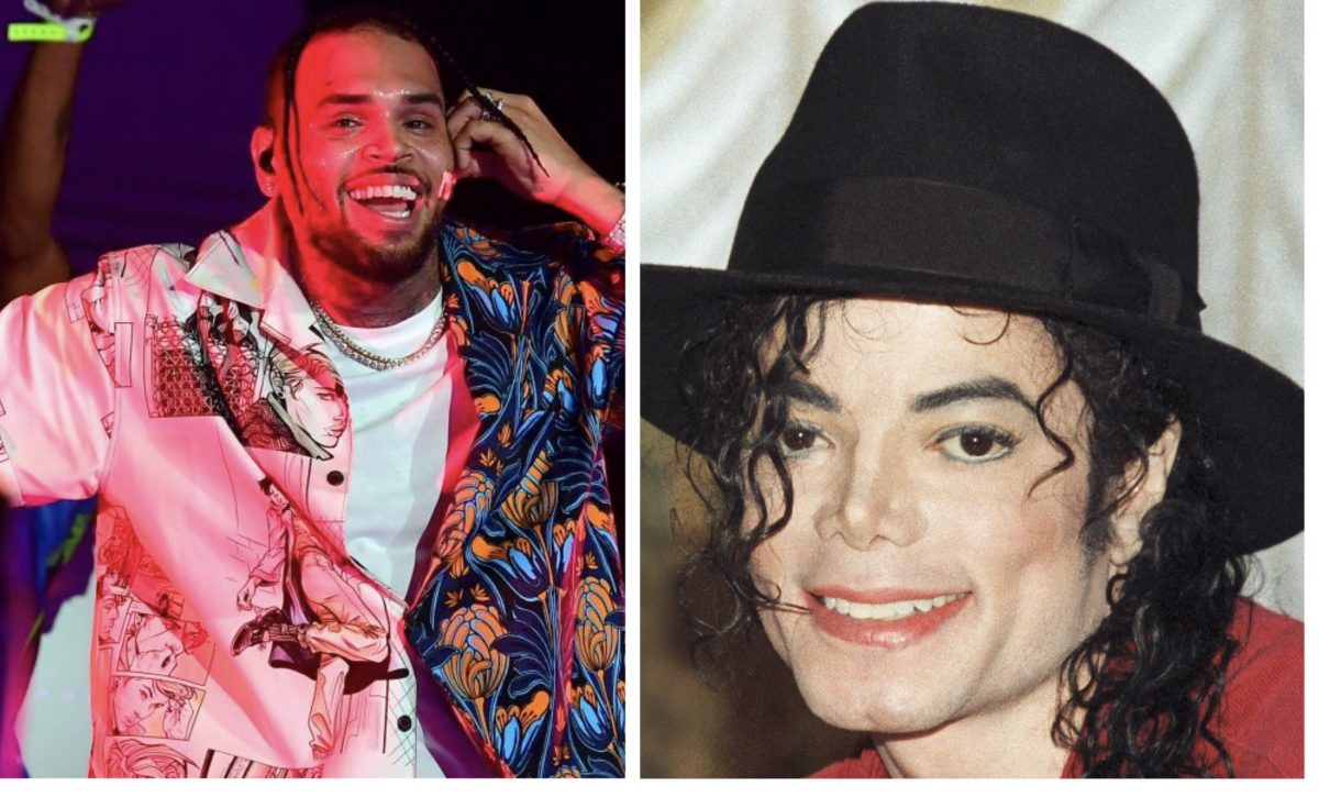 50 Cents claims Chris Brown is greater than Michael Jackson and people are not having it