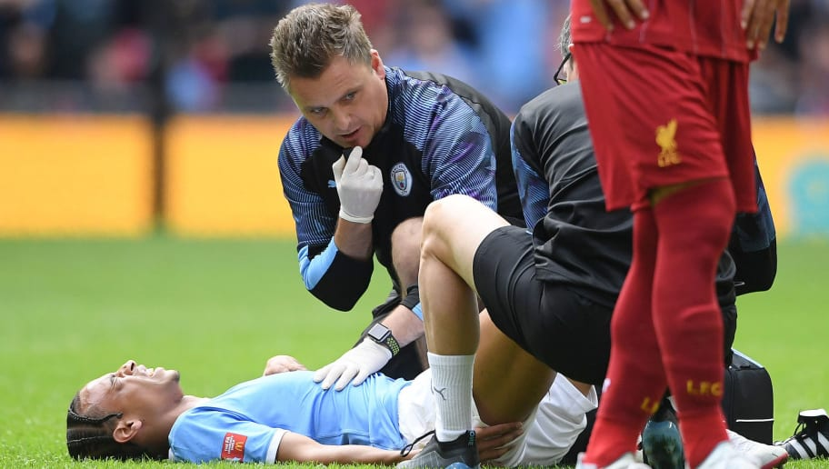 Leroy Sane to miss six to seven months, Guardiola says