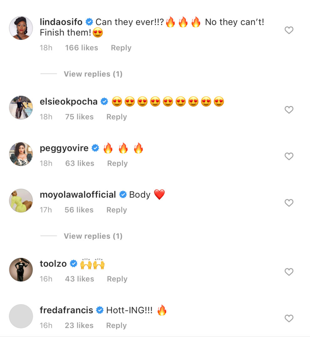 Annie Idibia Puts Her Scars And Stretch Marks On Display