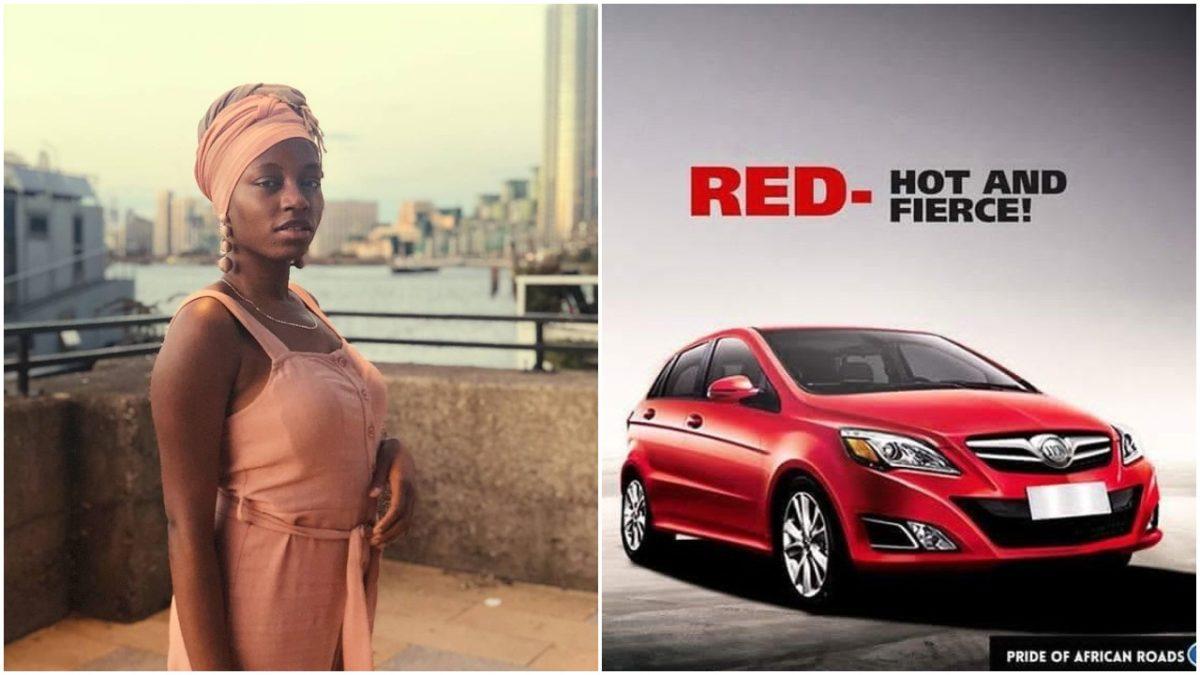BBNaija's  Khafi Wins Herself A Brand New Car