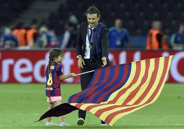 Spanish Coach Luis Enrique loses 9-year old daughter to cancer