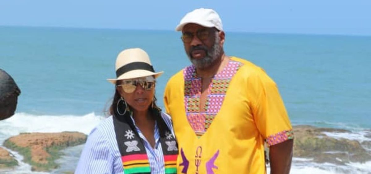 Steve Harvey Gets Sad After Visit To Cape Coast Castle