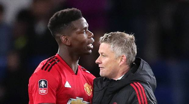 Ole Gunnar criticises Pogba for playing 'sloppy' passes at today's game